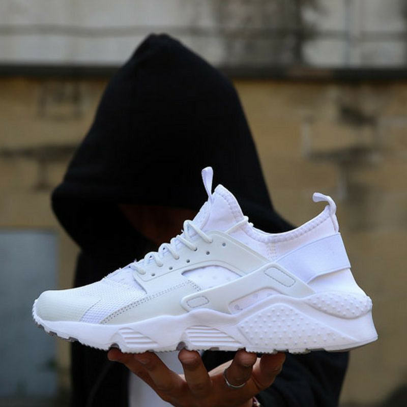 White Sport Breathable Sneakers