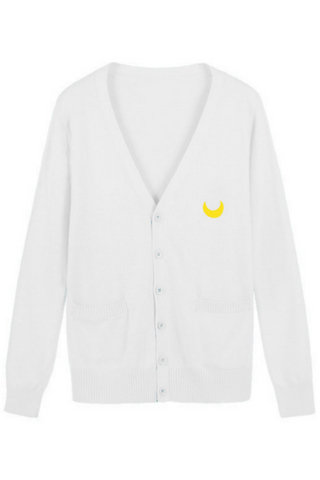 Jfashion Sailor Moon Cardigan In White