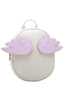 Cute White Angel Wings Backpack