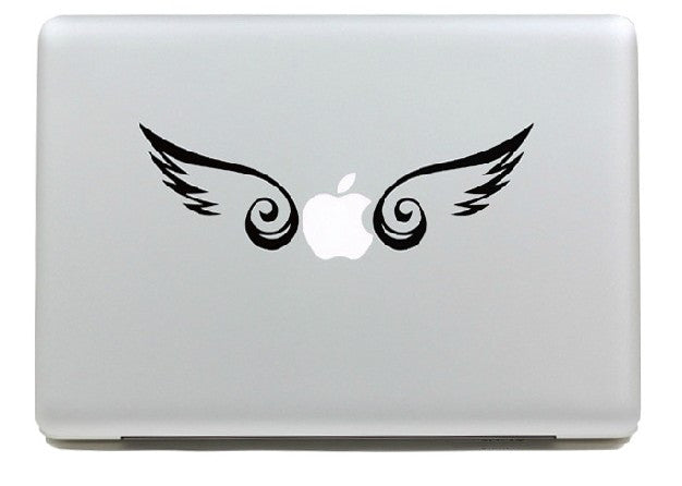 Macbook Wings Decal Sticker. Art Decals By Moooh!!