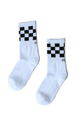 Checker Socks-2 Pairs