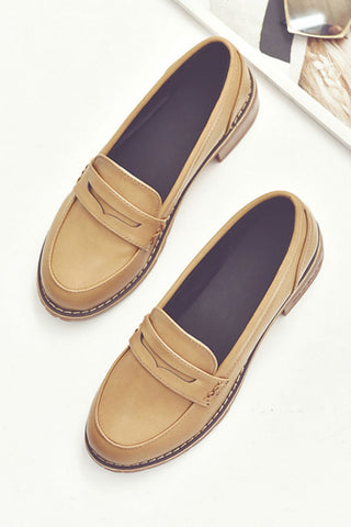 Vintage Brown Loafers