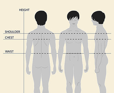 Men's Size Diagram