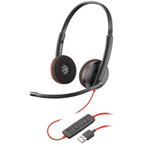 Plantronics Blackwire c3220 M Stereo USB Headset