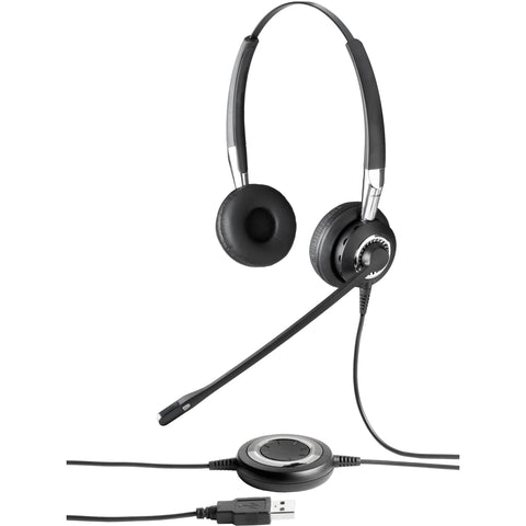 Jabra BIZ 2400 II Duo USB Headset - Contact Centre UC