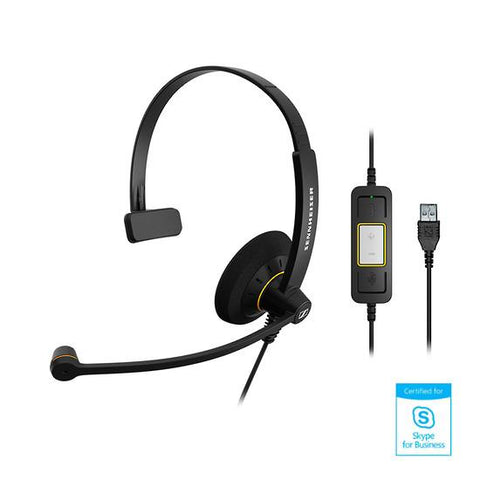 Sennheiser Culture™ SC 30 USB MS Monaural Headset - Skype for Business