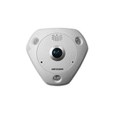 Hikvision 6-Series DS-2CD6362F-ISV 6MP Fisheye Vandalproof Dome Camera with I/O