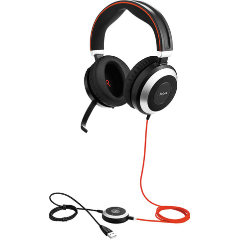 Jabra Evolve 80 Stereo USB Headset - MS
