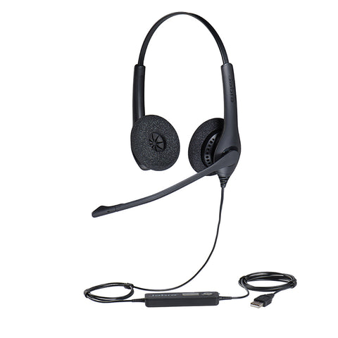 Jabra BIZ 1500 Duo USB Headset - UC