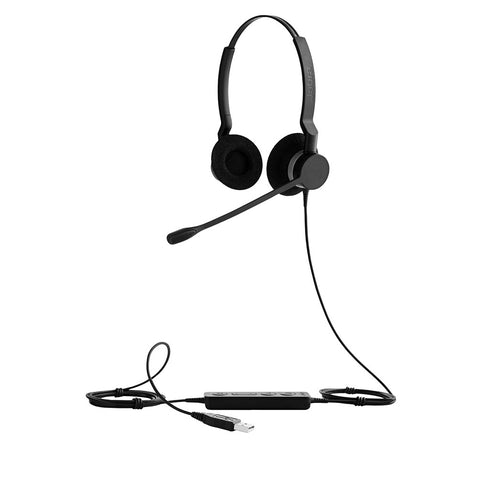 Jabra BIZ 2300 Duo USB Headset - UC
