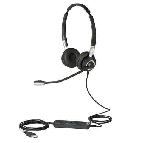 Jabra BIZ 2400 II Duo USB Headset - Contact Centre MS