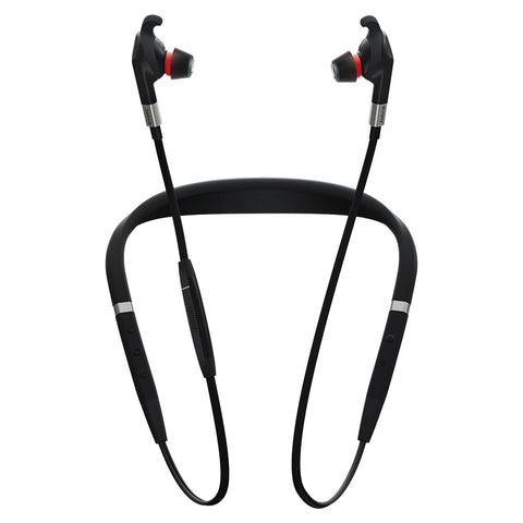 Jabra Evolve 75e Bluetooth Earbuds - MS + Link 370