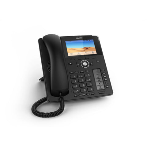 Snom D785 12-Line 24-Button Colour SIP Deskphone Gigabit PoE