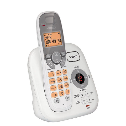 Vtech Cordless Phone with Answer Machine - Single Handset