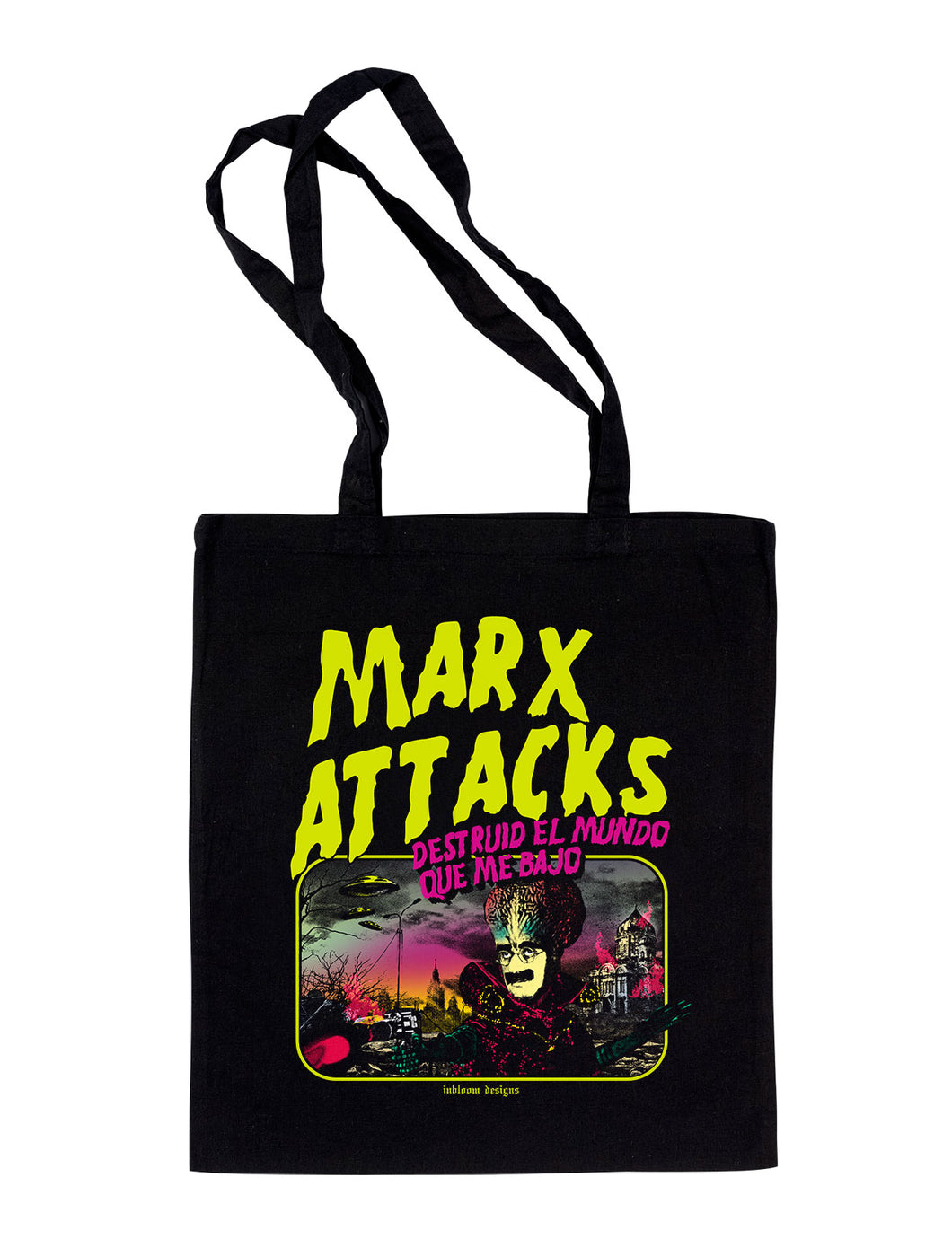 Marx Attacks - Totebag