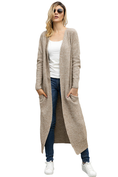 New Knit Cardigan Long sleeve Coats
