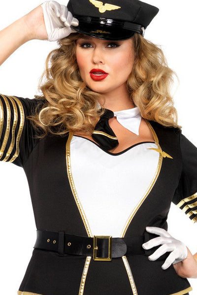 Halloween Cosplay Aviator suits