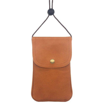 inch Casual Lightweight Pu Leather Phone Bag Shoulder Bag