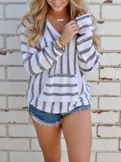 Stripe Woman Autumn More Colors Sweater