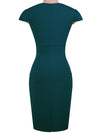 New Sweet Heart  Plain Bodycon Dress