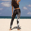 Digital Printing Fashion Sport Hips Leggings Pants