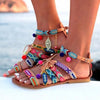 Bohemian  Buckle Sandals Shoes