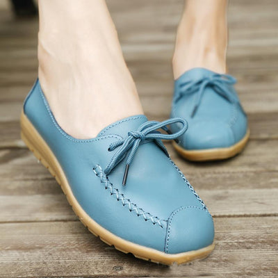 Plain  Low Heeled    Round Toe  Casual Comfort Flats