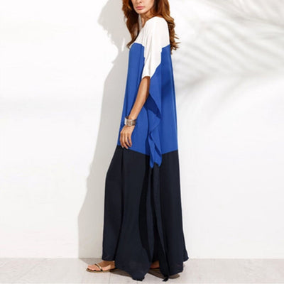 Loose Plain Simple Maxi Dress