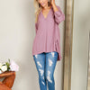 Women Casual Patchwork Chiffon Irregular Loose Blouse
