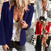 Female 5 Colors Fashion Chic Work Elegant Lady Blazer