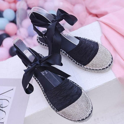 Casual Comfort Lace Up Flat Shoes