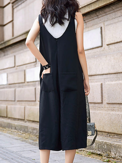 Black Elegant Off Shoulder Jumpsuit