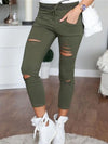 Woman Slim More Colors Long Pants