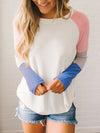 Daily Simple Woman Long Sleeve Autumn T-shirts