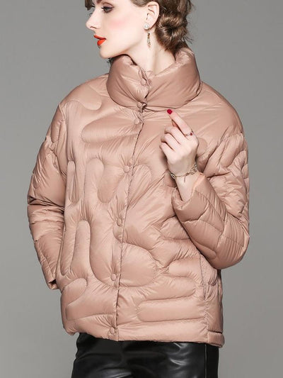 New Fashion Long sleeve Pure Down Jackets