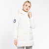 Women's Jackets Parkas Hooded Long Cotton Padded Thick Coats Outwear