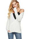 Autumn Long sleeve V neck Fashion Sweaters