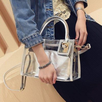 Transparent Crystal Crossbody Bags Fashion Designer Style Hangbags