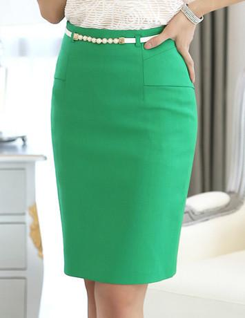 High Waist Fashion Work Bust Skirts