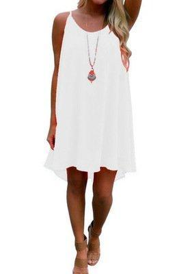 Resort High Low Crocheted Plus Size Dress