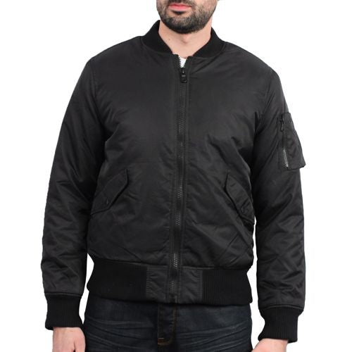 Solid Bombers Jacket