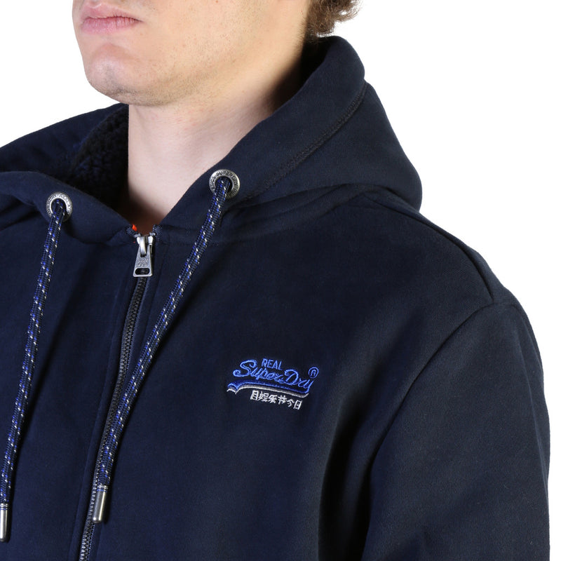 Sweat homme bleu marine Superdry - M2000028A