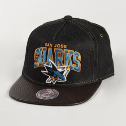 Dark Denim Sharks Cap