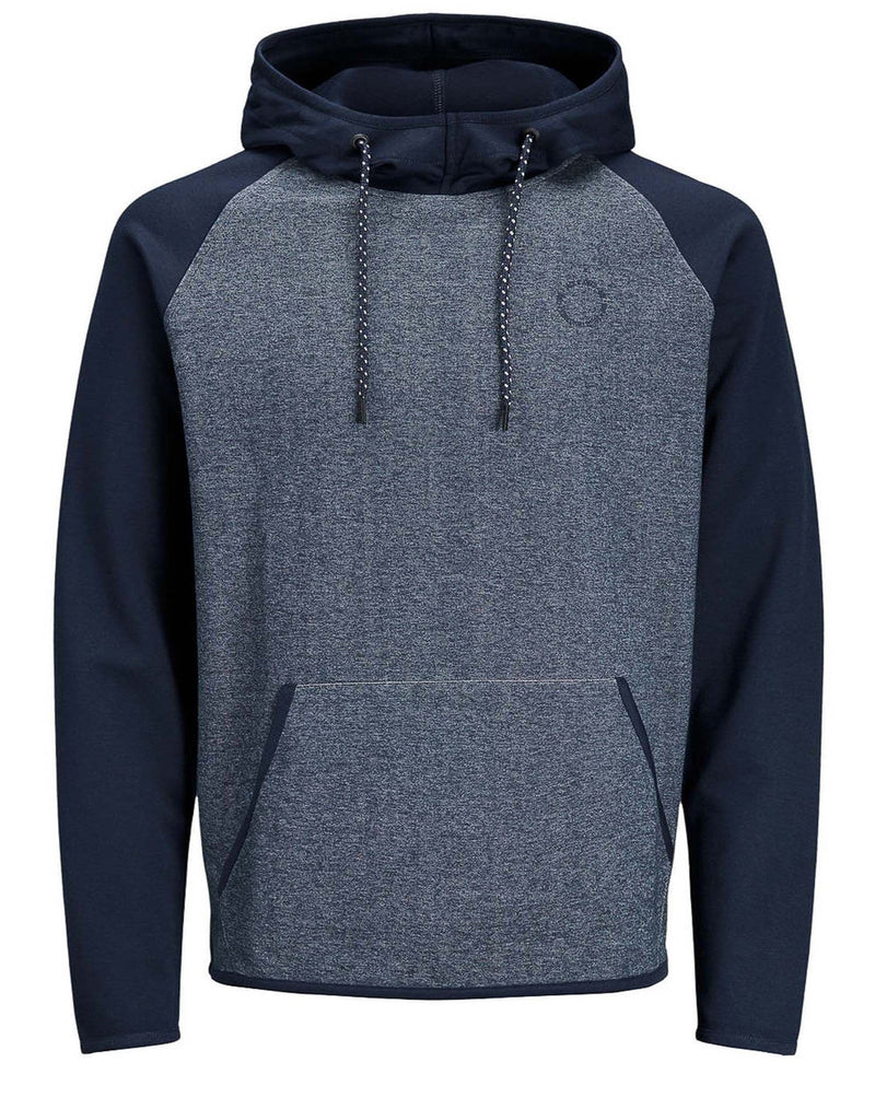 Sweat-shirt homme urbain navy à capuche