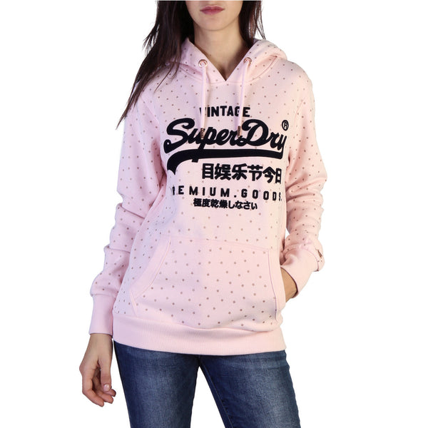 Sweat hoodie femme rose Superdry - W2000028A