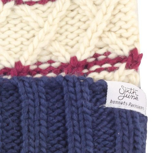 Pompon Grosse Maille Beanie