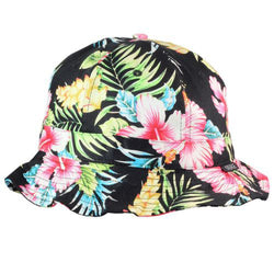 Hibiscus Fishman Bucket Hat