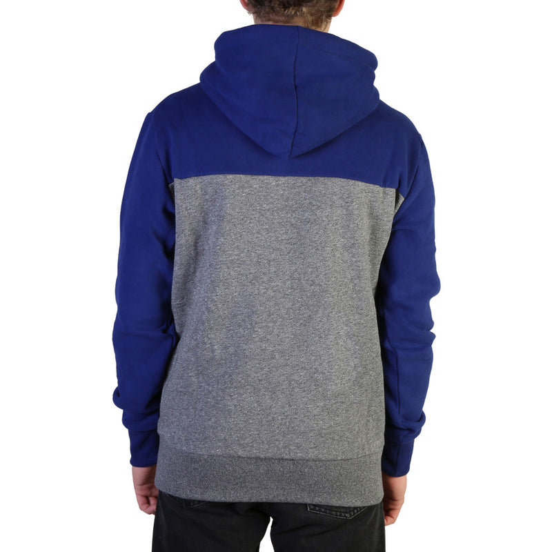 Sweat bi color bleu et gris Superdry - M2000050B