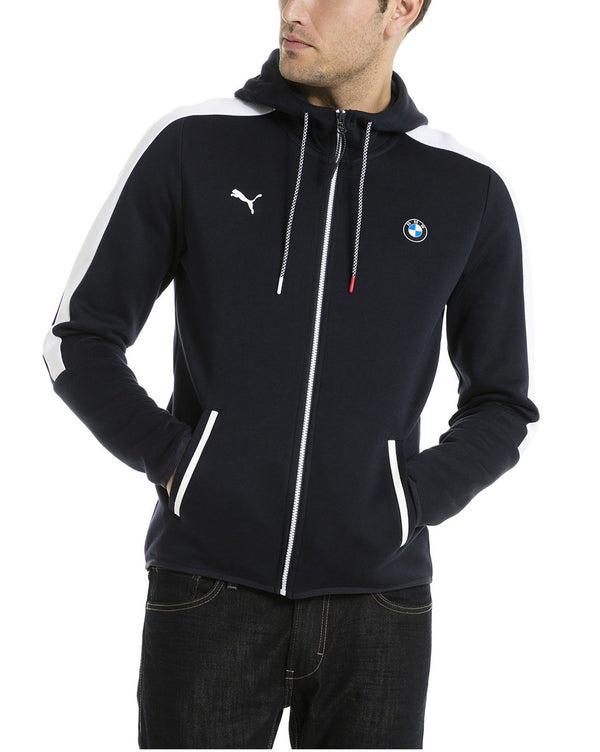 Blouson en sweat navy à capuche BMW motorsport