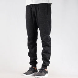 Fitted Pixel Melange Sweatpants